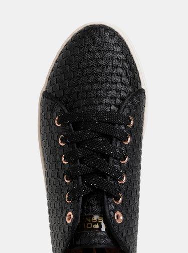 Pantofi sport negri de dama U.S. Polo Assn.