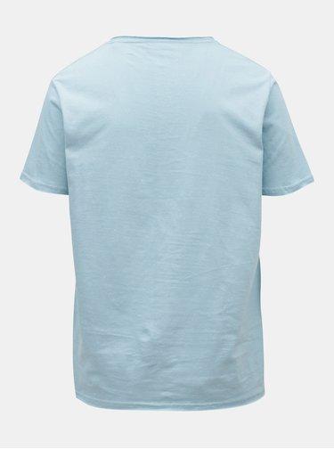 Svetlomodré melírované tričko Shine Original