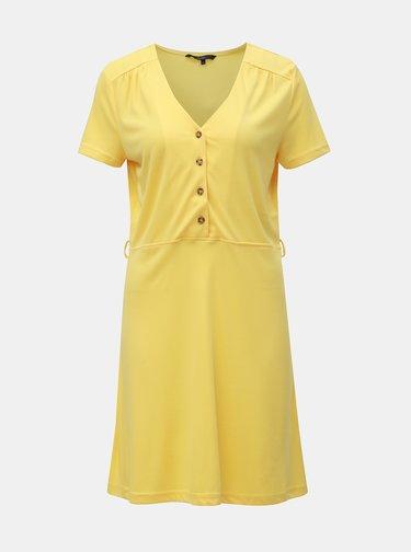 Žluté šaty VERO MODA Jess