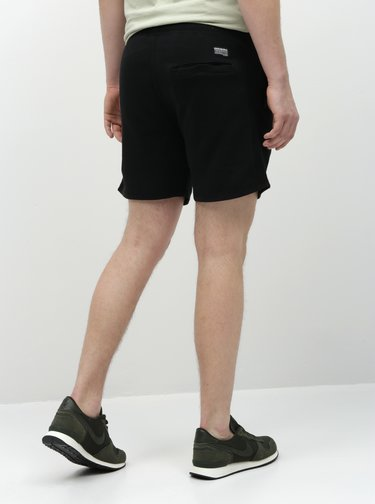 Pantaloni scurti sport negri Shine Original
