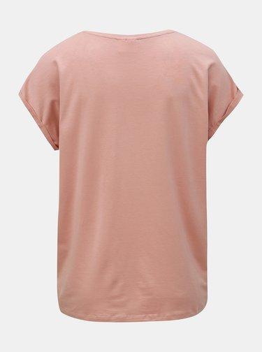 Staroružové basic tričko AWARE by VERO MODA Ava
