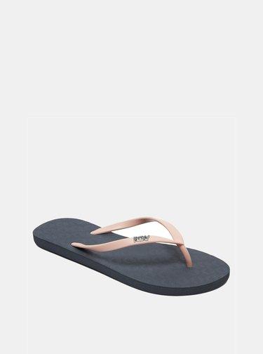 Papuci flip-flop roz Roxy Viva Tone