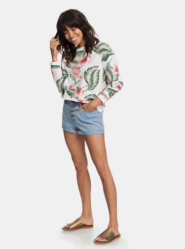 Bluza sport verde-crem florala Roxy Girls Of Summer