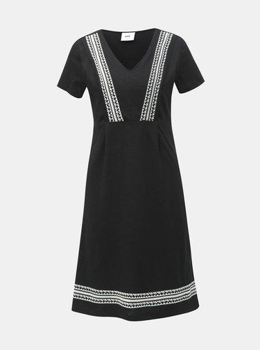 020bbacd21ed Čierne svetrové šaty s pásikmi na chrbte Jacqueline de Yong Emily ...