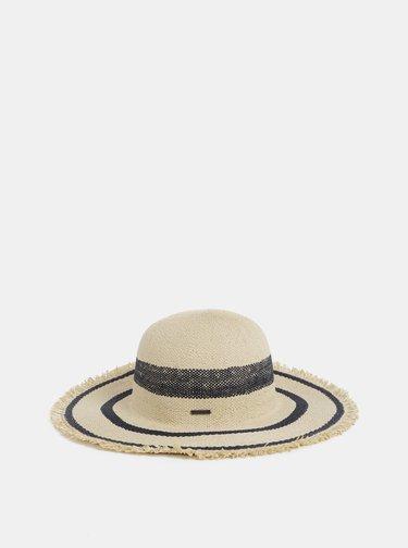 Béžový klobúk Roxy Sound