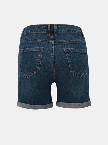 Pantaloni scurti albastri din denim pentru femei insarcinate Dorothy Perkins Maternity