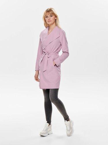 Ružový kabát Jacqueline de Yong Ida