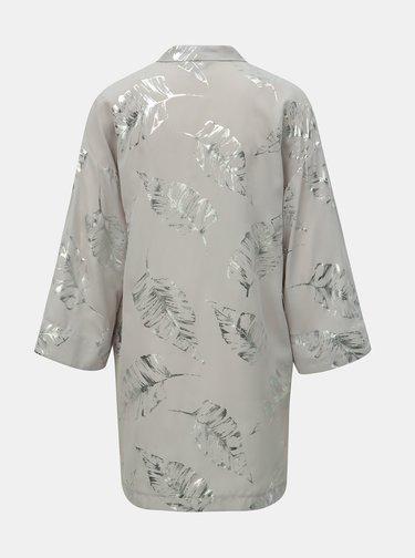 Svetlosivé kimono s potlačou Dorothy Perkins