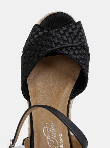 Sandale negri Tom Tailor