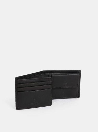 Tmavě hnědá pánská kožená peněženka Tom Tailor Jerrie