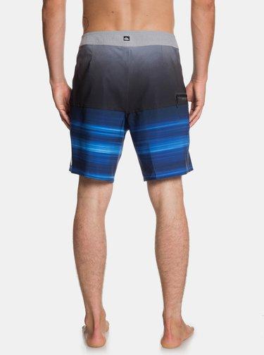 Čierno–modré plavky Quiksilver Holdown