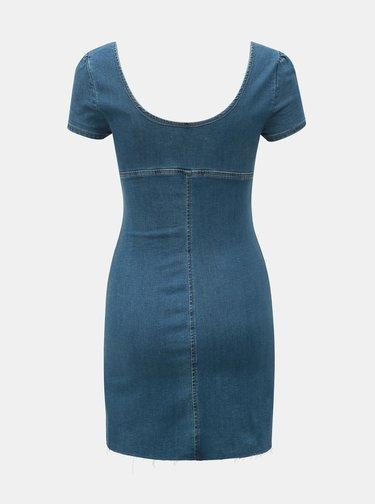 Rochie albastra din denim TALLY WEiJL