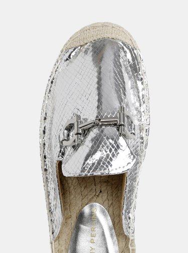 Papuci argintii Dorothy Perkins