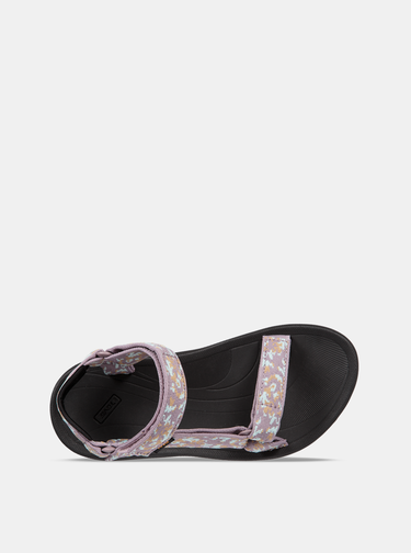 Sandale mov de dama cu model Teva
