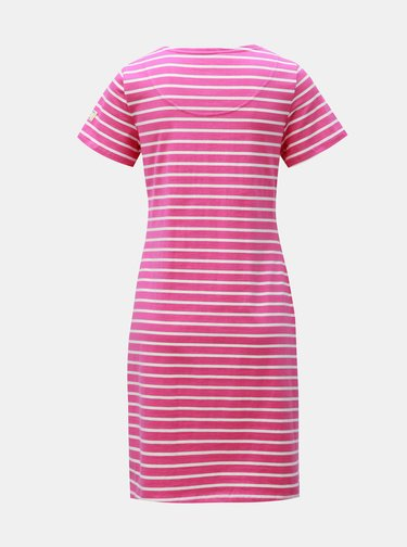 Růžové pruhované šaty Tom Joule Riviera