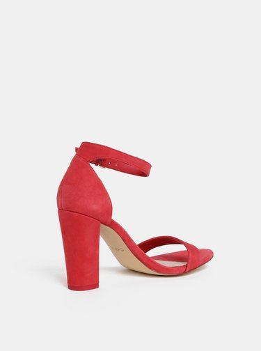 Sandale rosii din piele intoarsa ALDO
