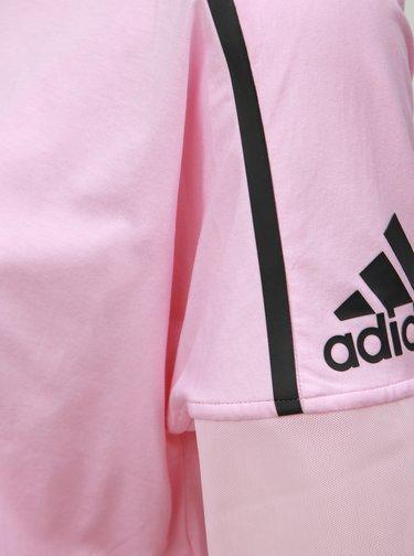Tricou roz de dama adidas Performance Trupnk