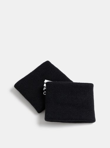 Set de 2 mansete elastica neagra adidas Performance TENNIS