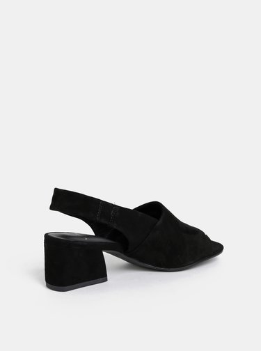 Černé semišové sandálky Vagabond Elena