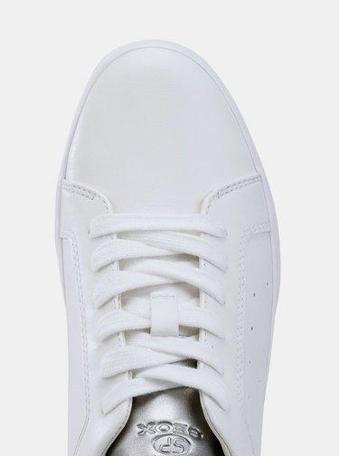Bílé dámské tenisky Geox Blomiee