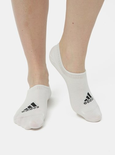 Set de 3 perechi de sosete albe adidas Performance