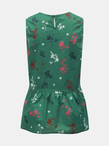 Zelený květovaný top Maloja Chapella
