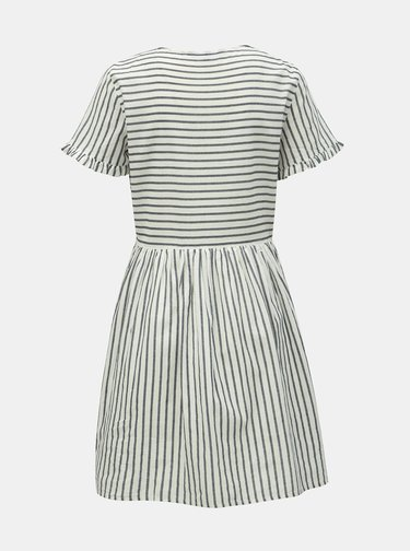 Modro–biele pruhované šaty VERO MODA Coco