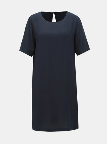 Tmavě modré šaty s průstřihem na zádech ONLY First