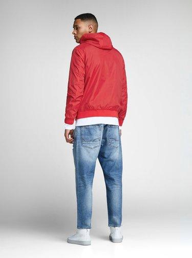Červená tenká bunda Jack & Jones Pete