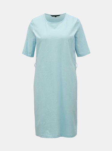 Světle modré šaty VERO MODA Alex