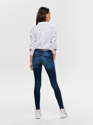 Modro–biela pruhovaná košeľa ONLY Carry