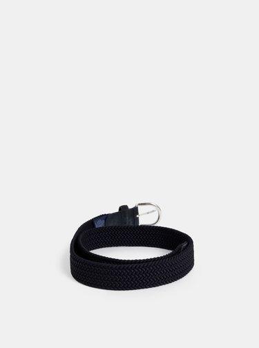 Tmavě modrý dámský pásek GANT