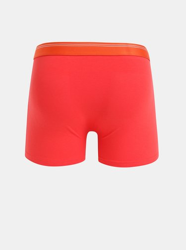 Červené boxerky Selected Homme Colour