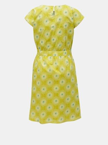 Svetlozelené kvetované šaty Brakeburn Allium