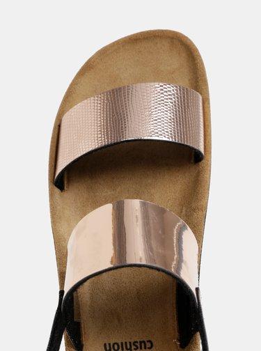 Sandale roz-auriu de dama Scholl Cynthia Sandal