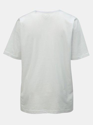 Bílé basic tričko Ulla Popken