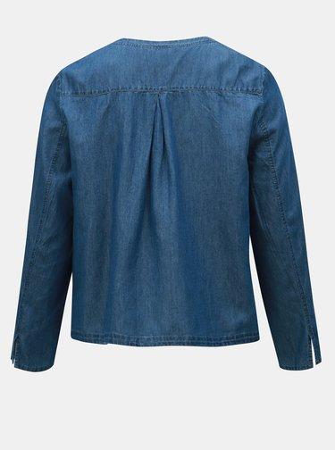 Modré džínové sako Ulla Popken