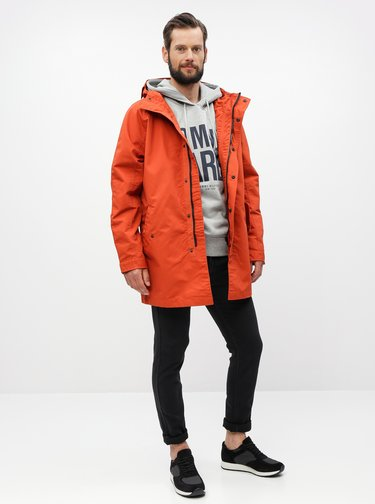 Tehlová parka Burton Menswear London