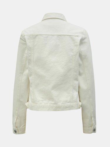 Biela rifľová bunda Dorothy Perkins