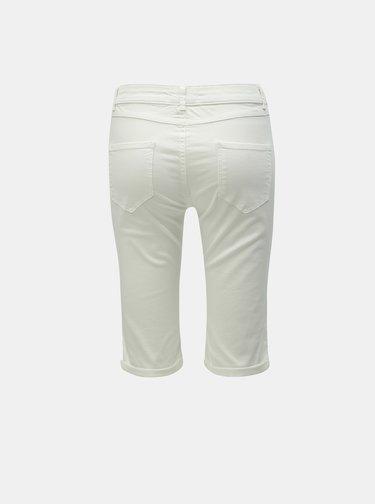 Pantaloni scurti albi din denim Dorothy Perkins Tall