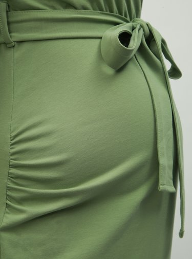Rochie mulata verde pentru femei insarcinate Dorothy Perkins Maternity