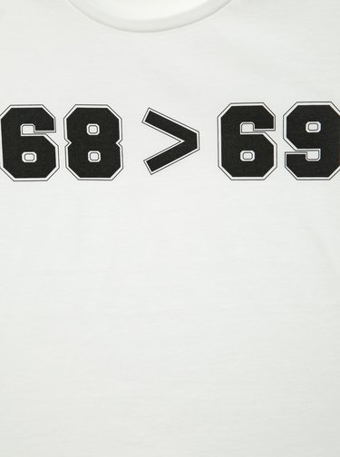 Biele pánske hokejové tričko ZOOT Original