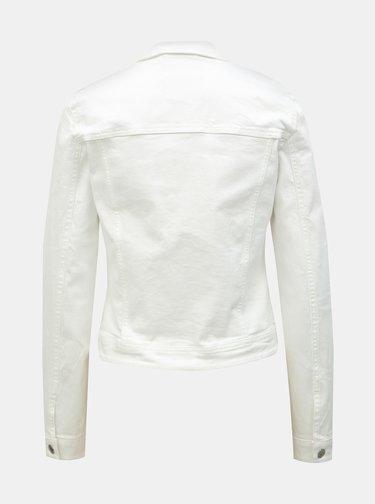 Bílá džínová bunda ONLY Tia