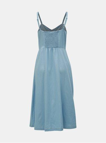 Rochie midi albastra VILA Luna