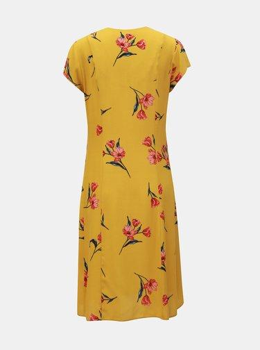 Rochie mustar florala Dorothy Perkins Tall