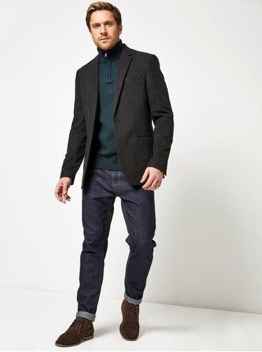 Černé sako Burton Menswear London