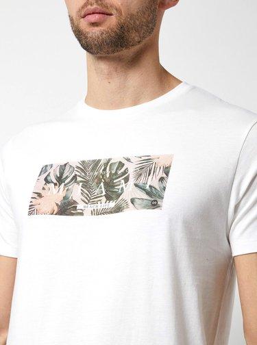 Tricou alb cu imprimeu Burton Menswear London
