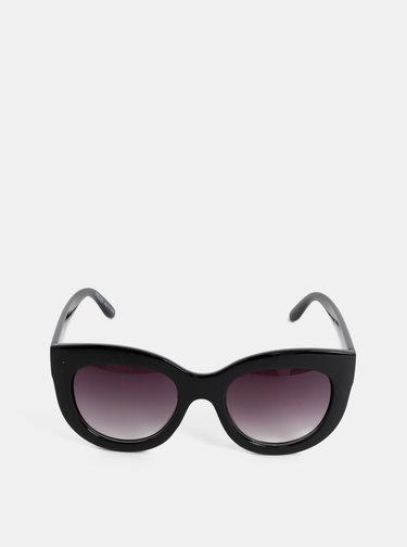 Černé sluneční brýle Pieces Erika