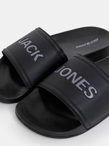 Čierne šľapky Jack & Jones Larry