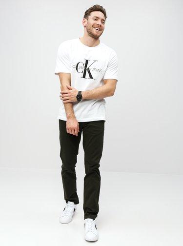 Kaki skinny chino nohavice Burton Menswear London